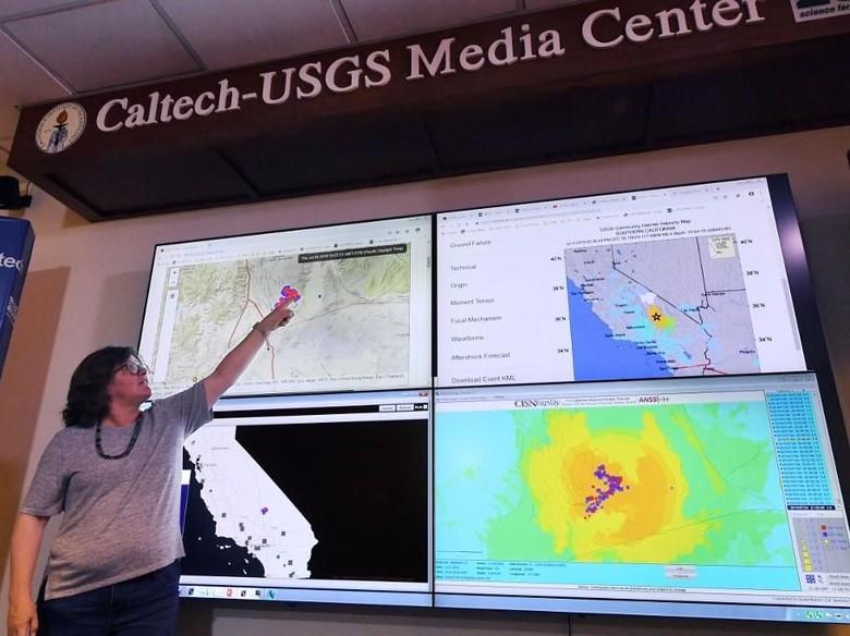 Gempa M 6,9 Guncang California Selatan, Terasa Hingga Las Vegas