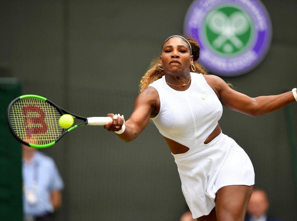 Menang Dua Set Langsung, Serena Pijak Babak 16 Besar Wimbledon