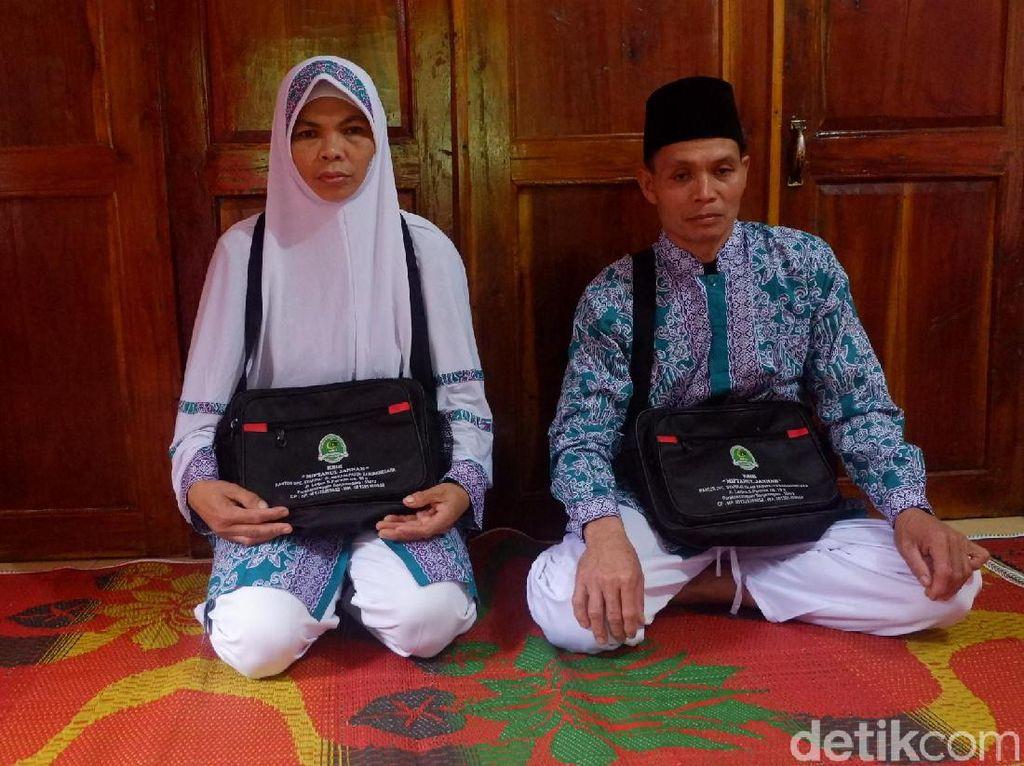 Kisah Haru Pasangan Buruh Gendong di Banjarnegara Akhirnya Naik Haji