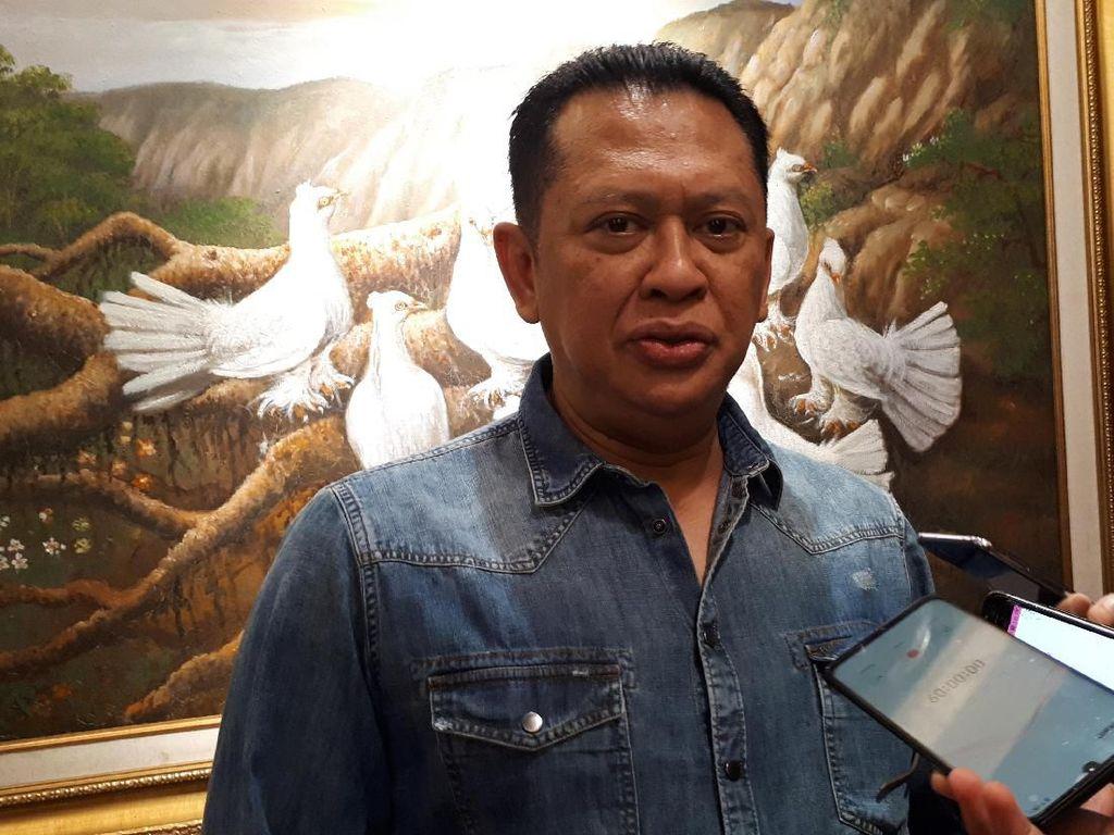 Bamsoet: Ketua MPR Jadi Rebutan karena Terkait Amandemen