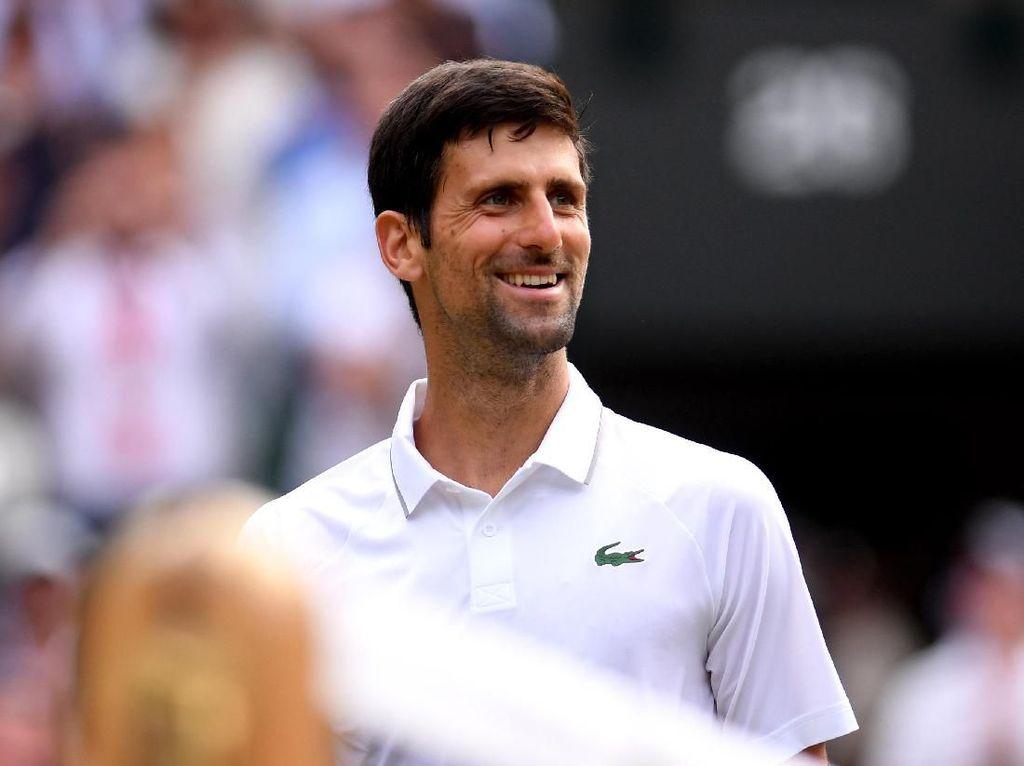 Wimbledon: Novak Djokovic Atasi Perlawanan Hubert Hurkacz