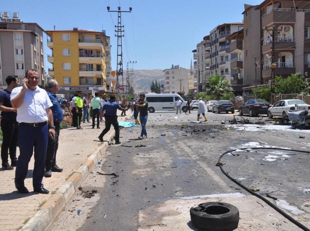 Bom Mobil Meledak di Perbatasan Turki-Suriah, 13 Orang Tewas
