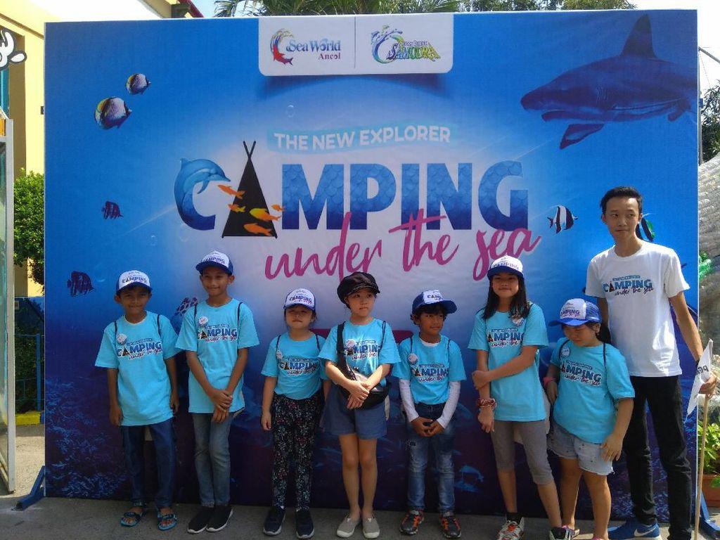 Camping Under The Sea, Cara Baru Ancol Kenalkan Satwa Laut ke Anak-anak
