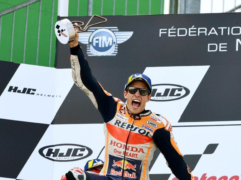 Juara MotoGP Jerman, Marc Marquez: Saatnya Liburan dengan Tenang