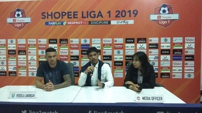 Nilmaizar memberi Persela Lamongan kemenangan perdana di Liga 1 2019. (Foto: Eko Susanto/detikSport)