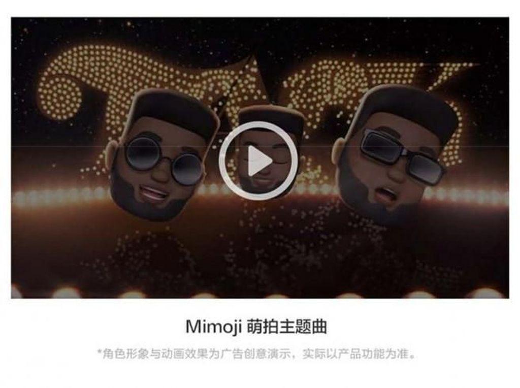 Xiaomi Pakai Iklan Apple untuk Promosikan Mimoji
