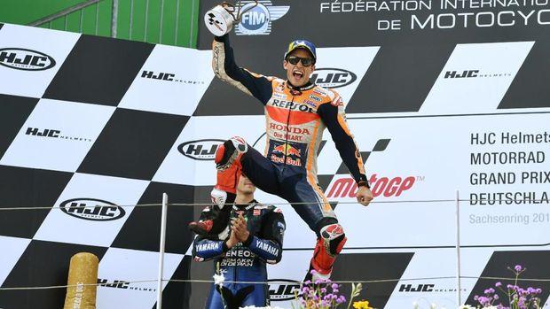 Marc Marquez juara paruh musim MotoGP 2019. (