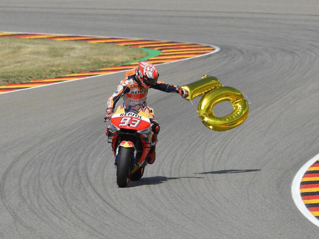 Marc Marquez di Jerman: 10 Tahun, 10 Pole Position, 10 Kemenangan