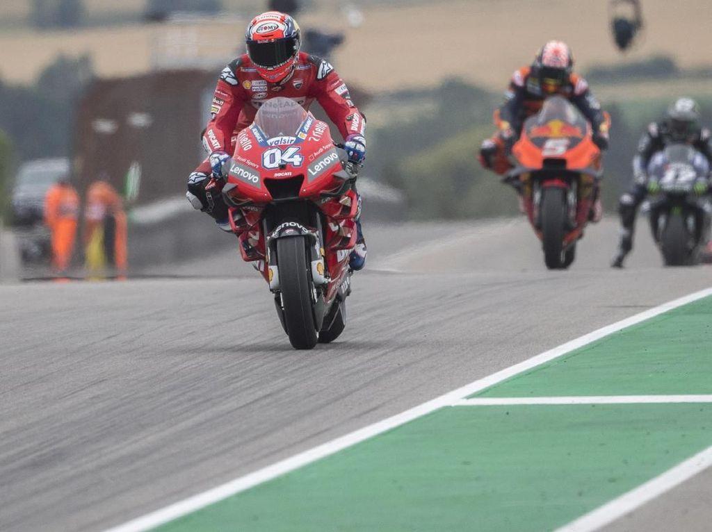 Dovizioso Bahkan Tak Sempat Mengkhawatirkan Laju Para Rival di MotoGP Jerman
