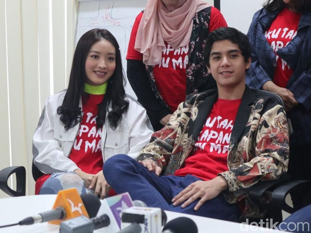 Main Film Horor, Natasha Wilona Pilih Film atau Sinetron?