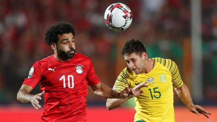 Afrika Selatan menghentikan langkah Mesir untuk lolos ke perempatfinal Piala Afrika 2019 (Foto: Amr Abdallah Dalsh/Reuters)