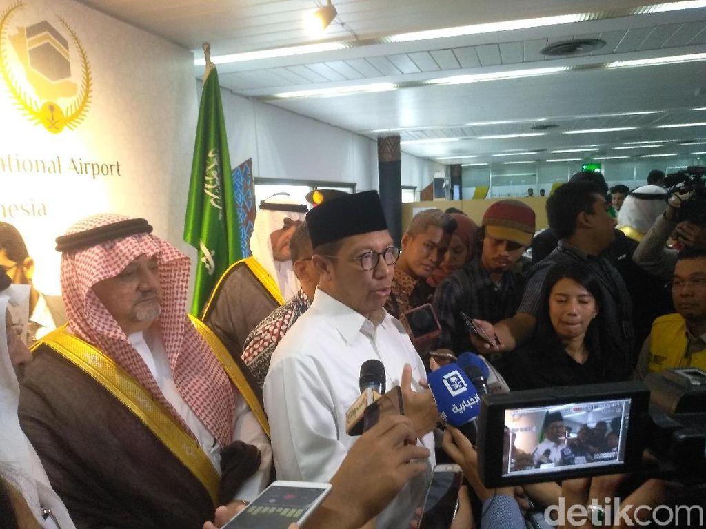 Menag: Pelayanan Fast Track Jemaah Haji Tak Lebih dari 10 Detik
