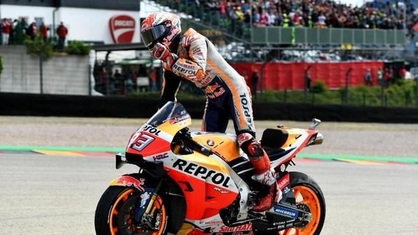 Marc Marquez makin menjauh di klasemen MotoGP 2019 (REUTERS/Annegret Hilse)
