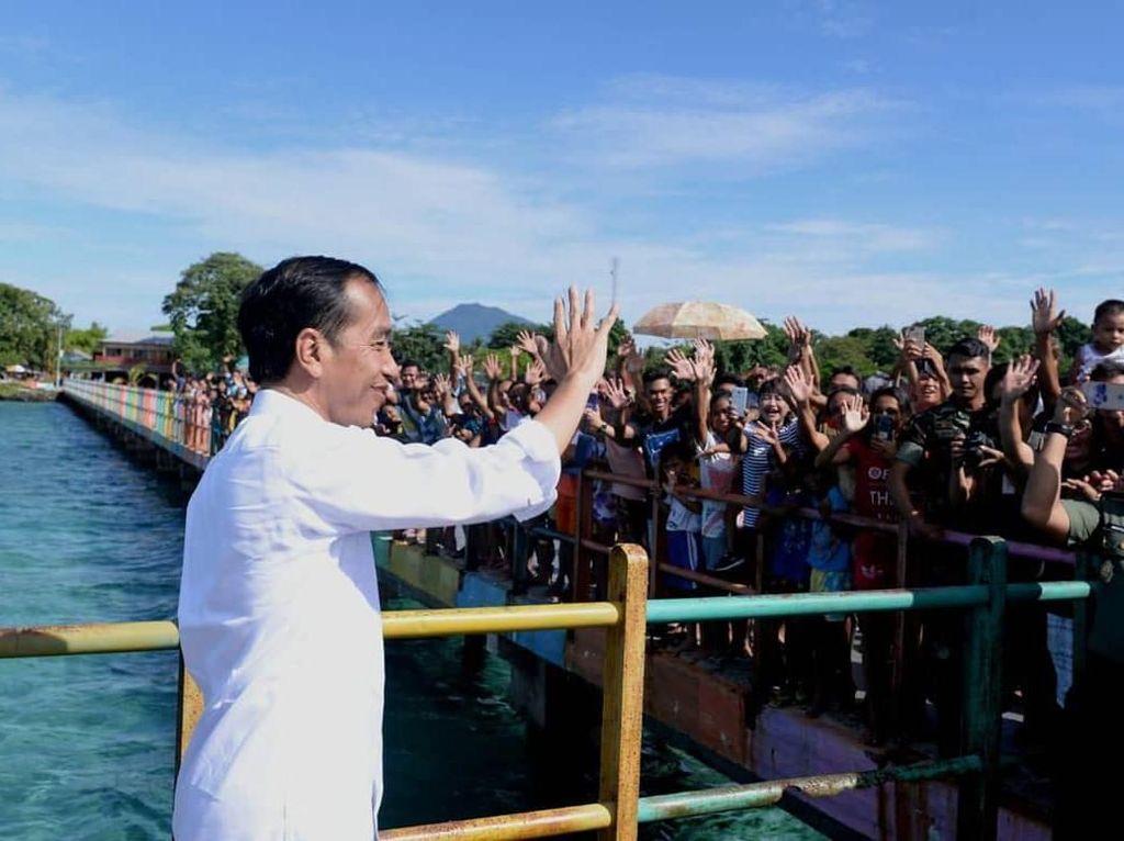 Puja-puji Jokowi Pada Keindahan Sulawesi Utara