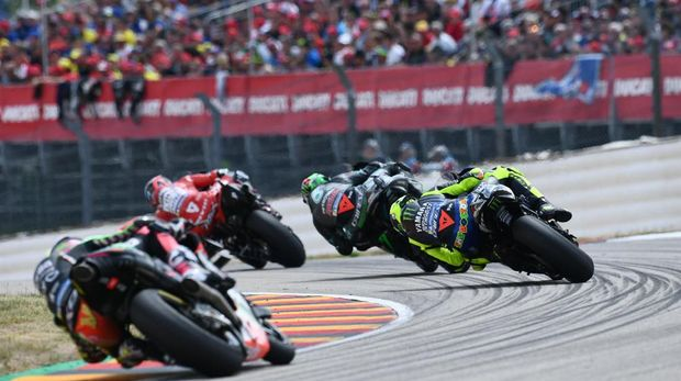 Suasana MotoGP Jerman 2019. (