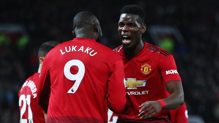 Paul Pogba dan Romelu Lukaku masuk skuat tur pramusim Manchester United. (Foto: Clive Brunskill / Getty Images)