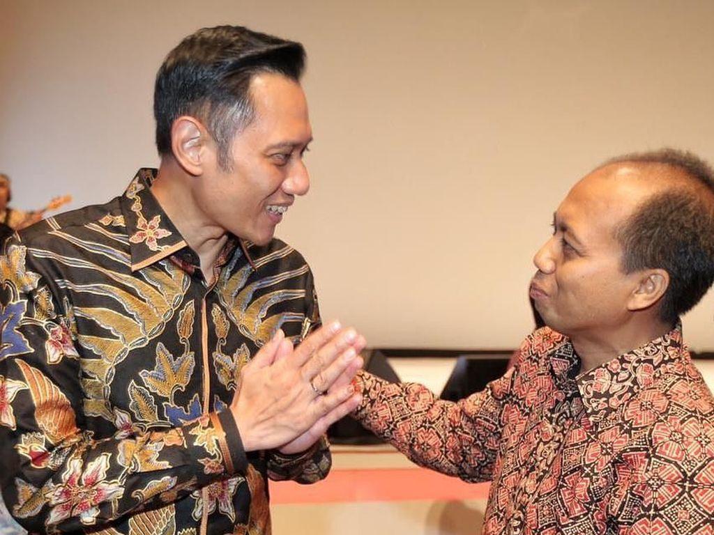 AHY: Terima Kasih Pak Sutopo, Semangatmu Menginspirasi Kami