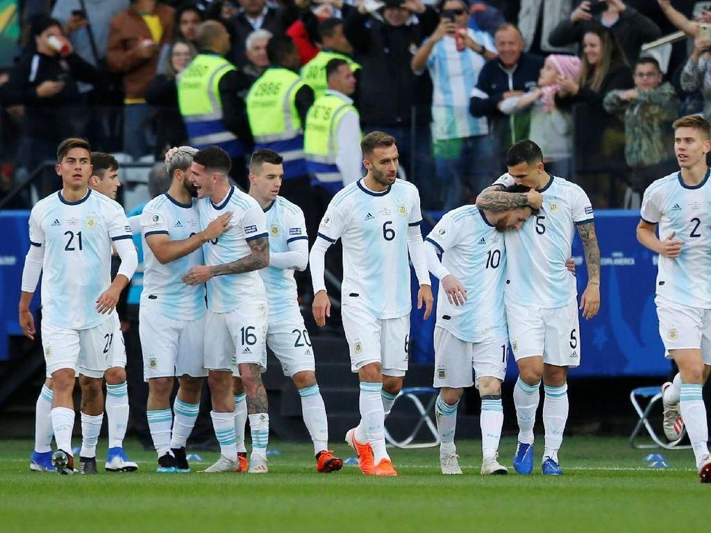 Hadiah Hiburan Argentina di Copa America 2019