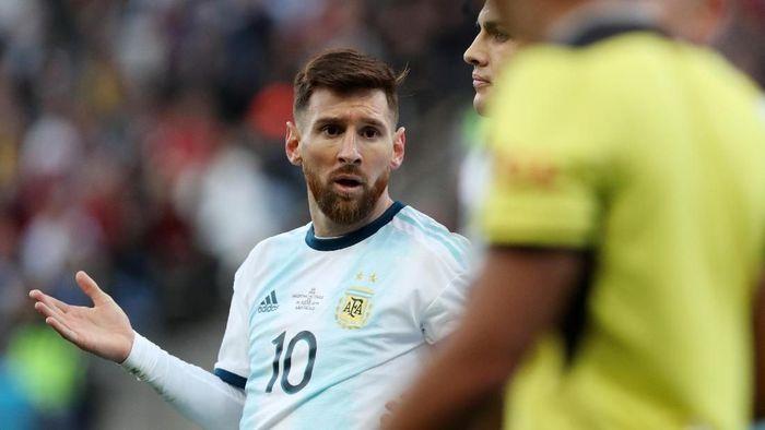 Lionel Messi sangat kecewa dengan perhelatan Copa America 2019. (Foto: Amanda Perobelli)