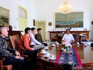 Rich Brian Bertemu Jokowi di Istana Bogor