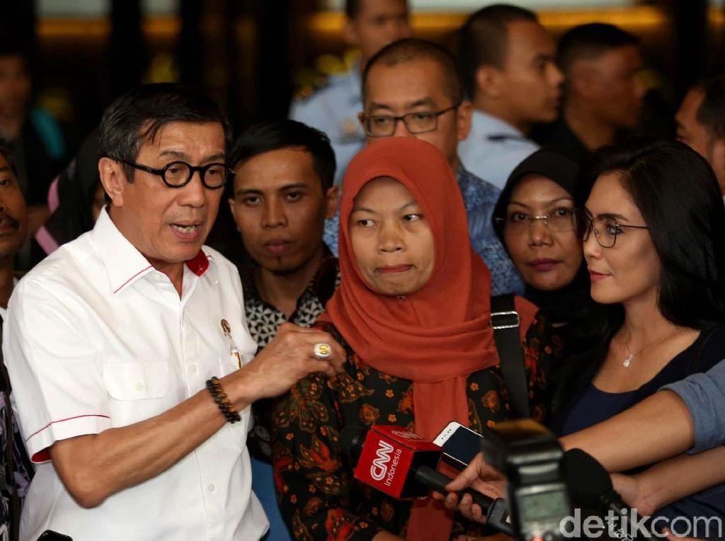 Bicara Kasus Baiq Nuril, Menkumham: Kemungkinan Amnesti