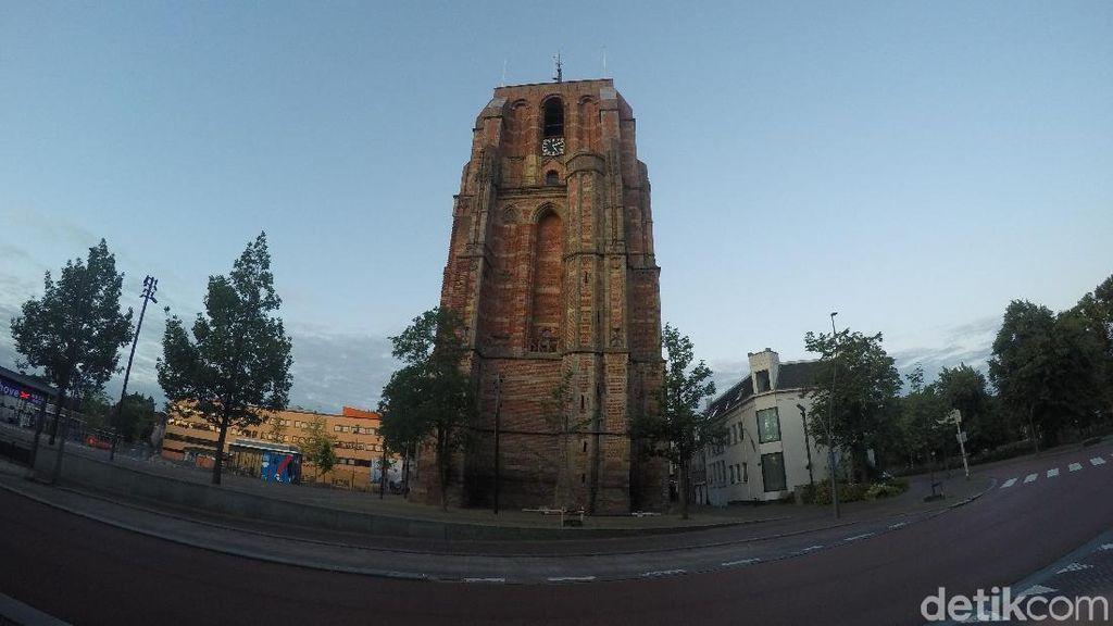 Foto: De Oldehove, Menara Miring Belanda