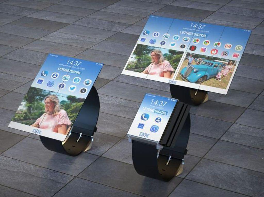 Berubah! Smartwatch IBM Ini Bisa Jadi Smartphone dan Tablet