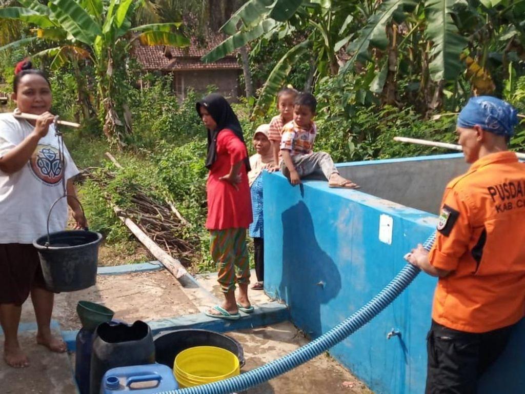 Sumur Warga Mengering, BPBD Ciamis Distribusi 20 Ribu Liter Air