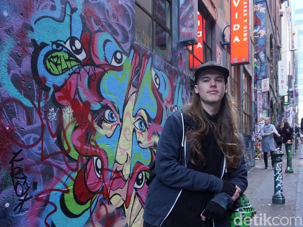 Potret Hosier Lane, Gang Penuh Karya Mural yang Instagramable di Melbourne