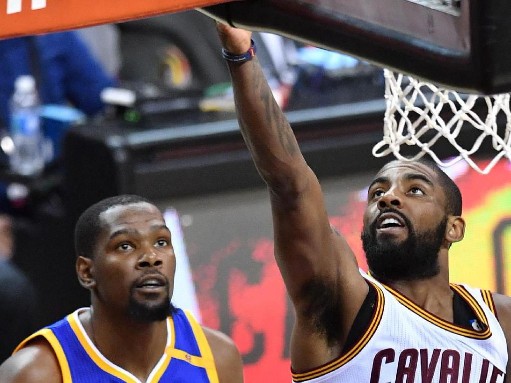 Kevin Durant, Kyrie Irving Gabung Brooklyn Nets