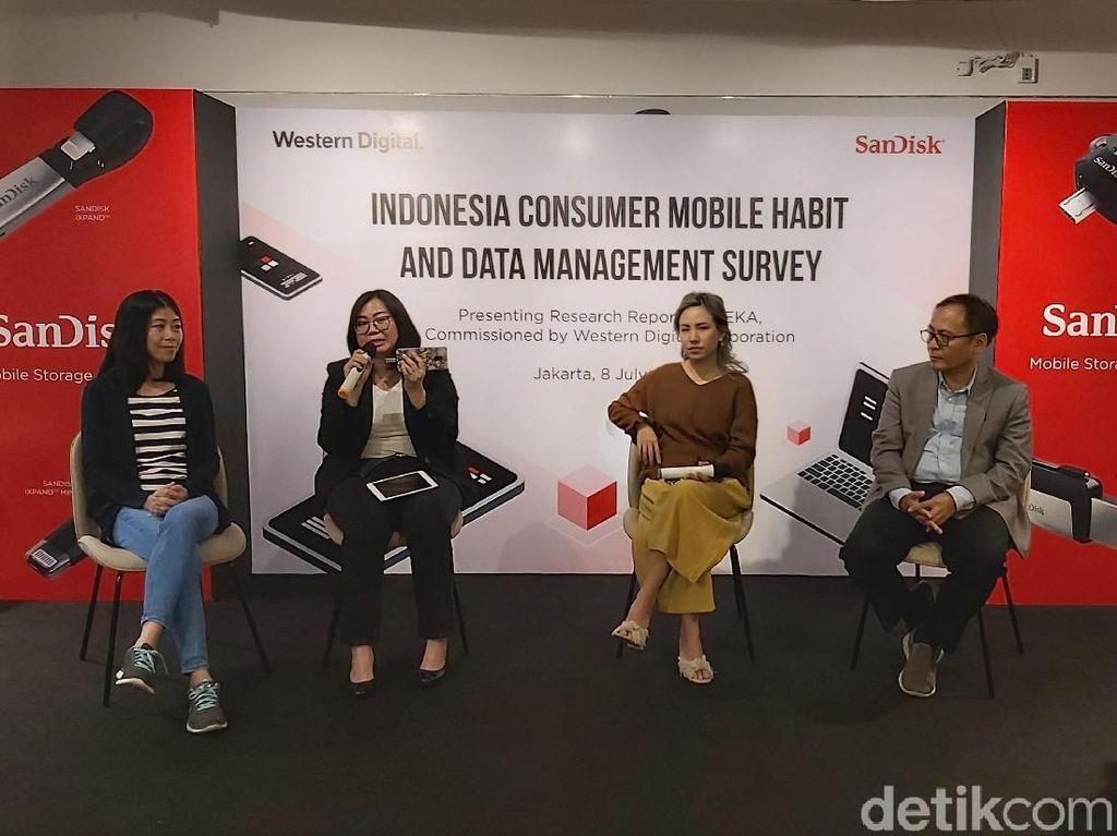 Pengguna Smartphone RI Sudah Melek Backup Data, Tapi...