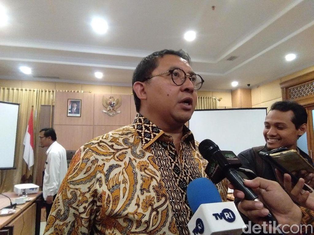 Kata Fadli Zon Soal Kans Gerindra Gabung Jokowi: Belum Kita Putuskan