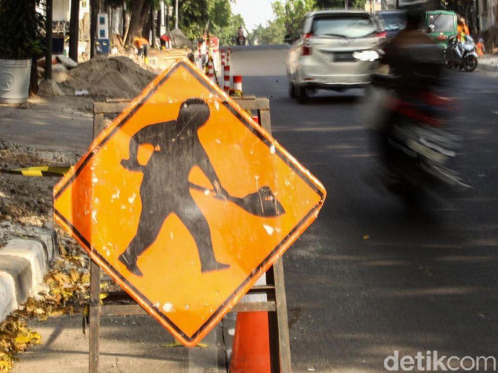 Bina Marga DKI: Kemang Sudah Macet Sebelum Pembangunan Trotoar