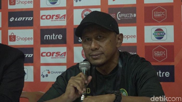Rahmad Darmawan menunggu keputusan resmi PT LIB terkait jadwal Tira-Persikabo melawan Bhayangkara FC. Foto: Jeka Kampai/Detikcom