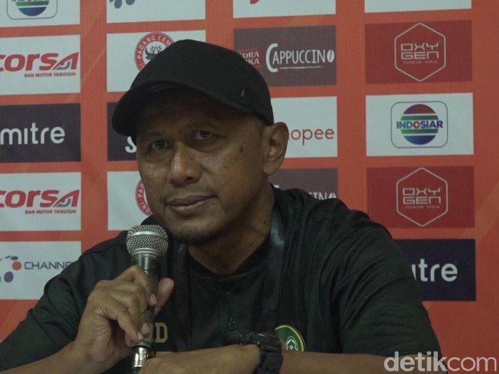 Pelatih TIra Persikabo, Rahmad Darmawan, menyiapkan beberapa strategi untuk menghadapi Persib Bandung. (Foto: Jeka Kampai/Detikcom)