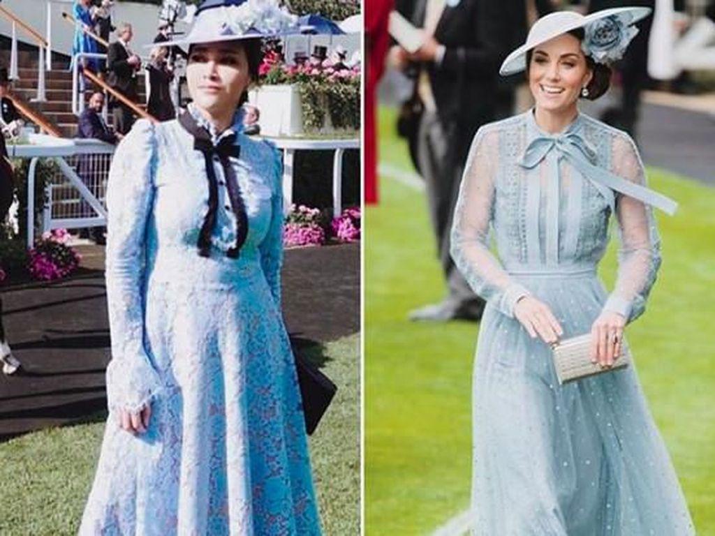 Disandingkan dengan Kate Middleton, Maia Sebut Dirinya Si Ratu Halu