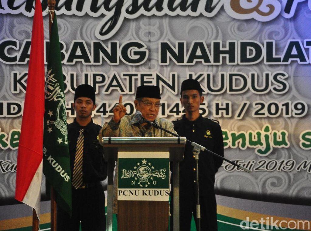 Ketum PBNU: Berapapun Jokowi Minta Menteri, Saya Siap