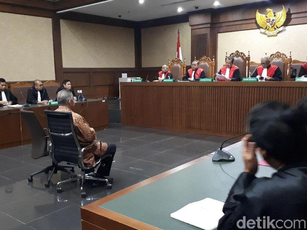 Hakim Tolak Eksepsi Sofyan Basir