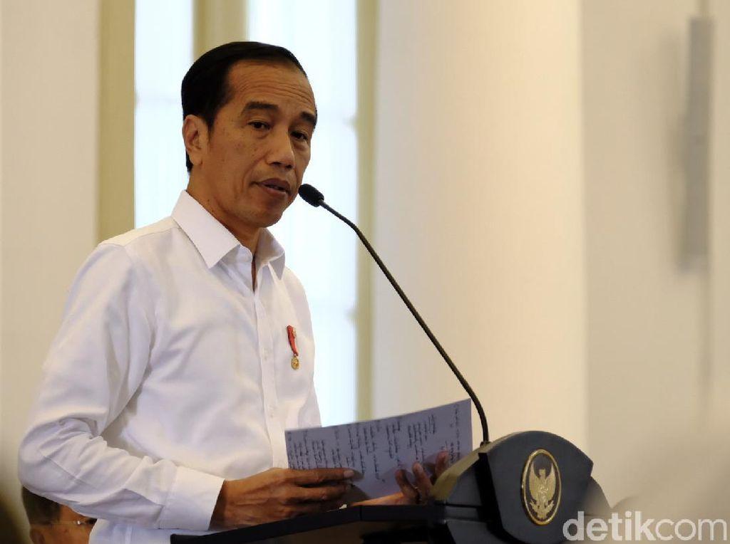 Jokowi Wanti-wanti Menteri Ekonomi Bereskan Neraca Dagang Tekor