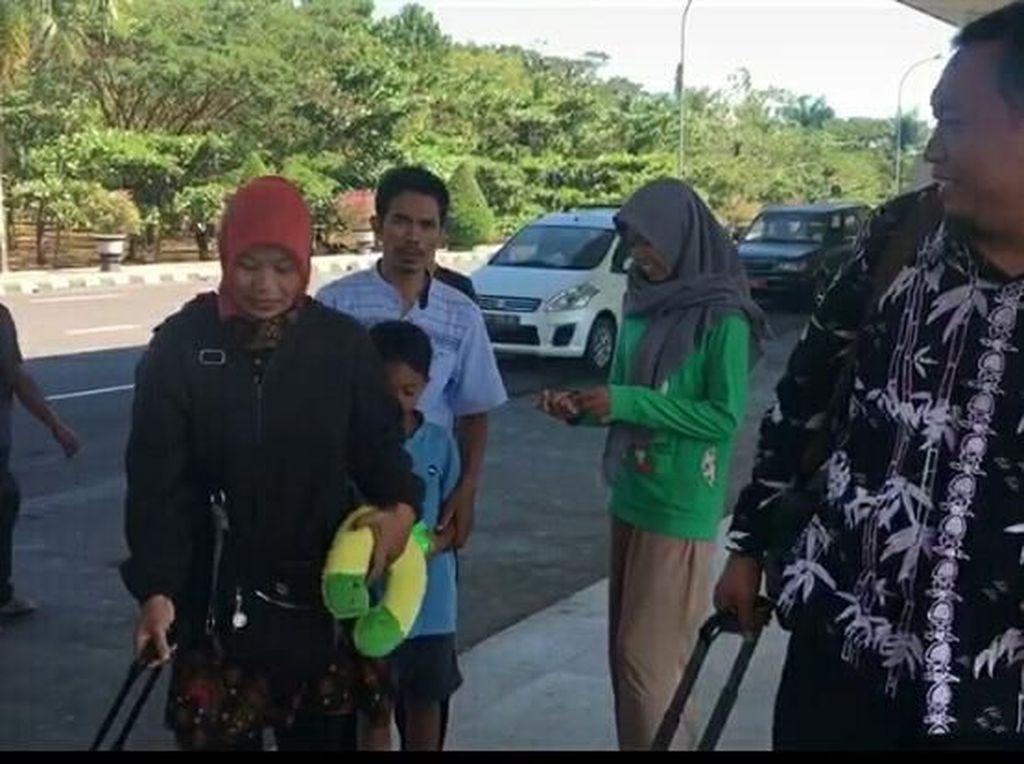Baiq Nuril Terbang ke Jakarta Akan Temui Menkum HAM