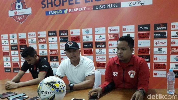 PSS Sleman kalahkan Kaletng Putra 2-0 dalam lanjutan Liga 1 (Ristu Hanafi/detikSport)