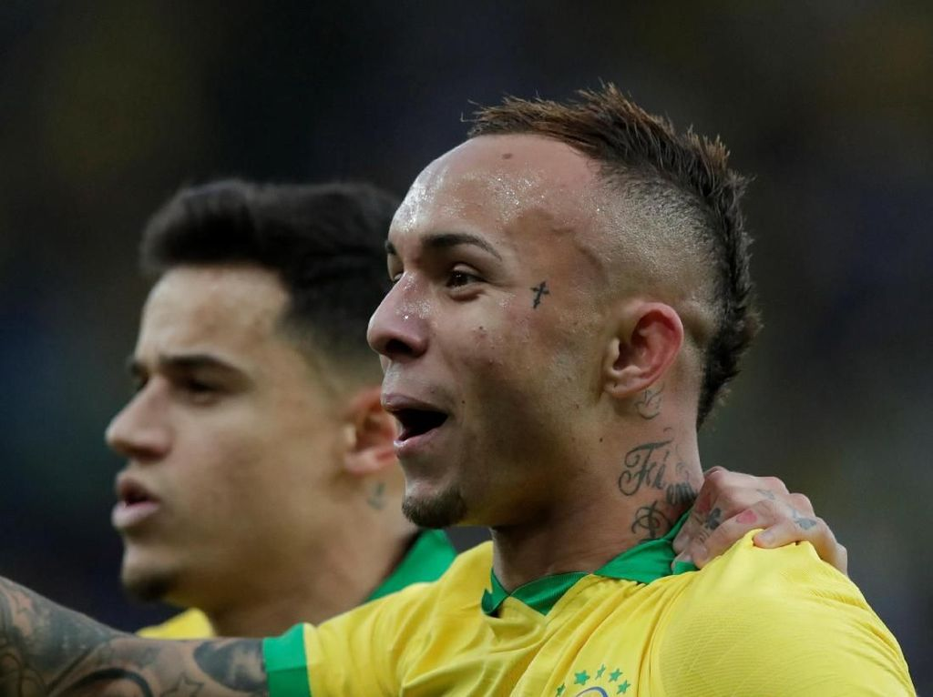Everton dan Paolo Guerrero Berbagi Gelar Top Skor Copa America