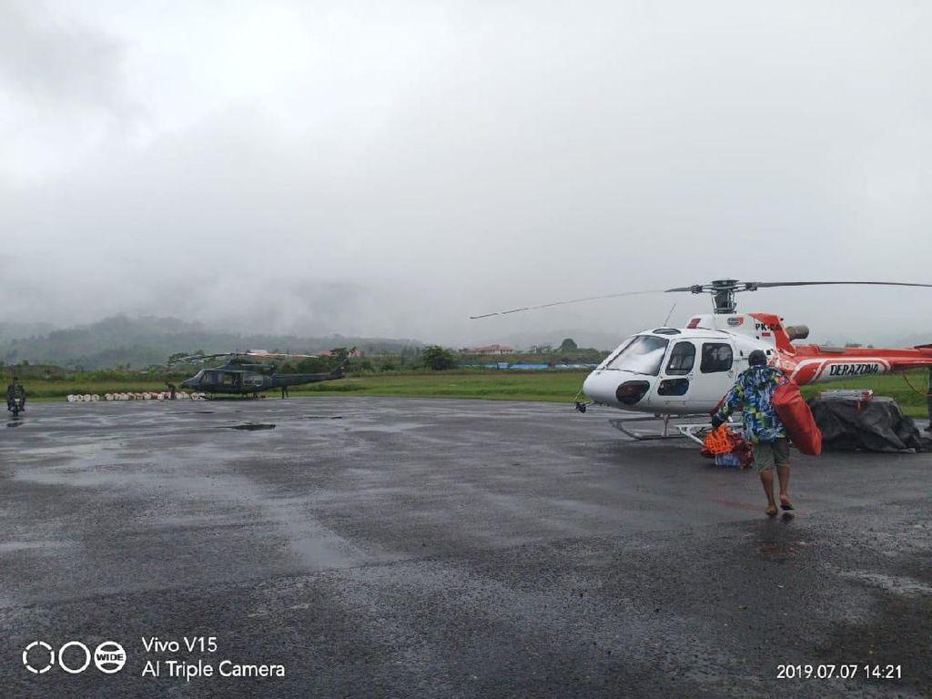 Hari ke-11 Pencarian Helikopter MI 17, Tim SAR Andalkan Kamera Infrared