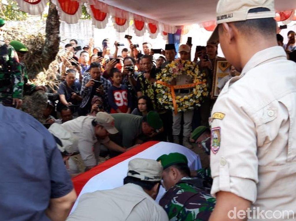 Jenazah Sutopo Dimakamkan, Dipimpin Kepala BNPB