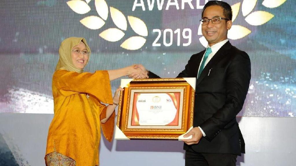 BNI Raih Penghargaan Bank BUMN Terbaik