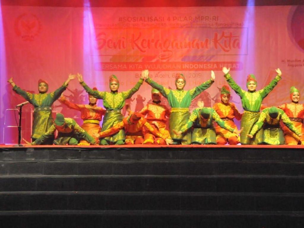 Sosialisasi Empat Pilar, MPR Angkat Kebudayaan Lokal di Aceh