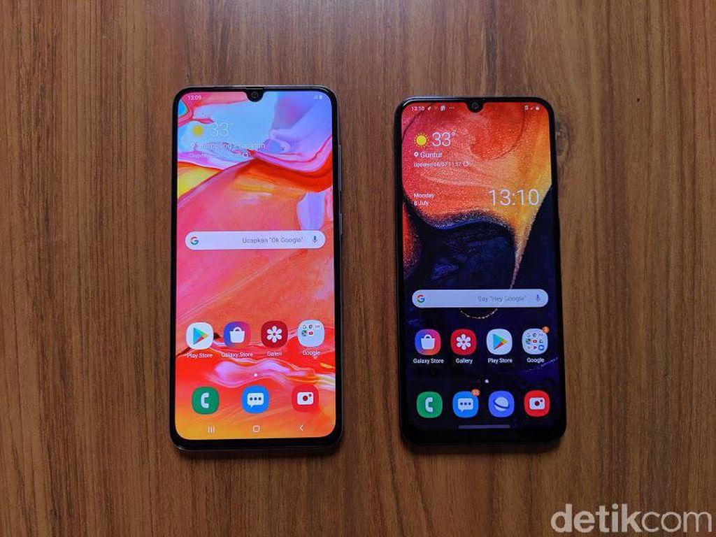 Punya Kemiripan, Pilih Samsung Galaxy A50 atau Galaxy A70?