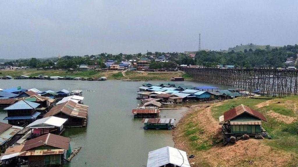 Potret Kota Tenggelam di Thailand