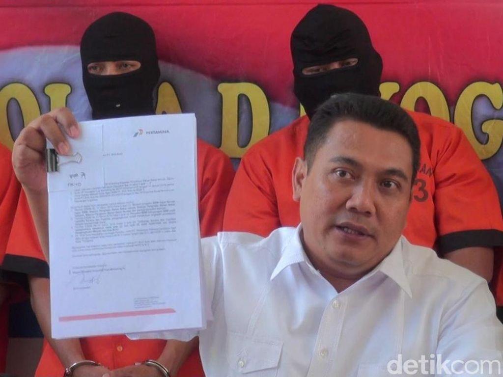 Polisi Ungkap Asal Solar Ilegal yang Disita di Kulon Progo