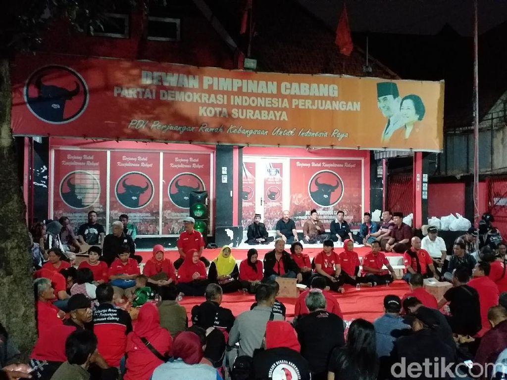 Tolak Hasil Konfercab, 28 PAC PDIP Surabaya Gelar Mimbar Bebas